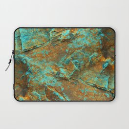 TURQUOISE MINERAL Laptop Sleeve