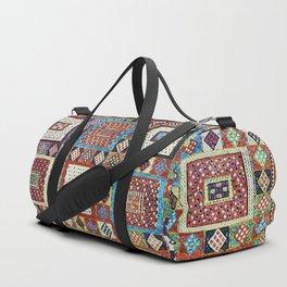Zili East Anatolia Antique Turkish Rug Print Duffle Bag