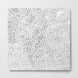 Lots of Dots Metal Print