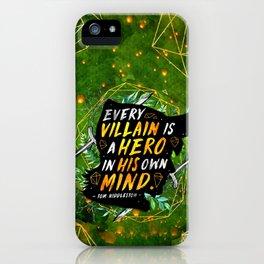 Every villain iPhone Case