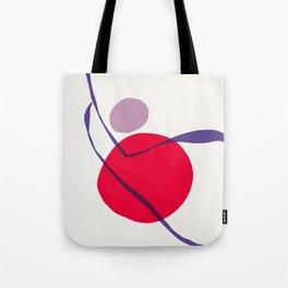 zen garden - red sun swing Tote Bag