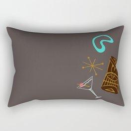 Tiki Bar Rectangular Pillow