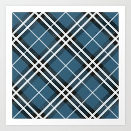 Blue Saint Andrew. Art Print