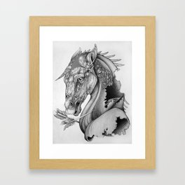 The King's Lost Knight Framed Art Print
