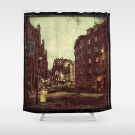 Edimbourg Street - Gerald Robin © Shower Curtain