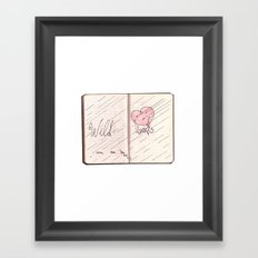 wild hearts can be broken Framed Art Print