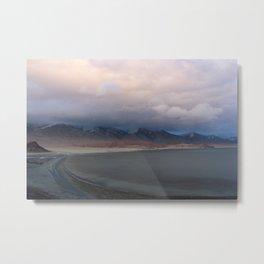 mongolian lake Metal Print