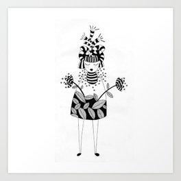 LadyBee Art Print