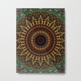 Trippy Fractal Kaleidoscope 2 Metal Print