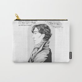 Words Left Unsaid Carry-All Pouch