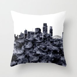 Corpus Christi Texas Throw Pillow
