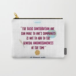 Quote Saint Thomas More Carry-All Pouch