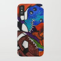 sports iPhone & iPod Cases featuring Sports Fans by Jake Dorr