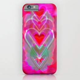 The Hearts Mantra iPhone Case