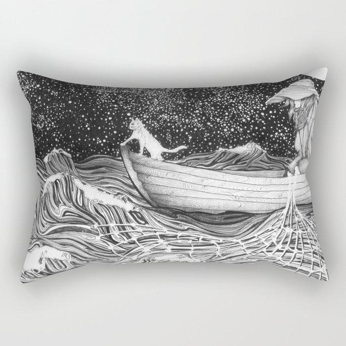 The Fisherman's Companion Rectangular Pillow