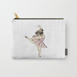 Dog Ballerina Tutu - Pug Carry-All Pouch