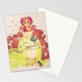 Tamaura of the Forest Stationery Cards