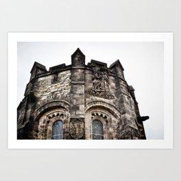 Edinburgh Castle Tower Art Print