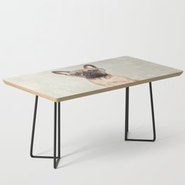 Mr French Bulldog Coffee Table