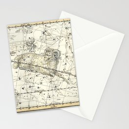 Aries Constellation Celestial Atlas Plate 13 Stationery Cards