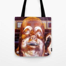 Shiny, Happy Buddha  Tote Bag