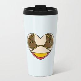 Slave Leia Character Heart Travel Mug