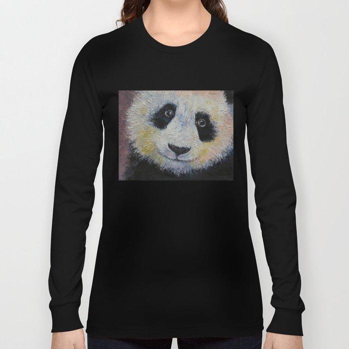 Panda Smile Long Sleeve T-shirt