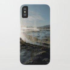 Natural spas iPhone X Slim Case