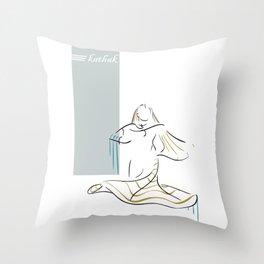 Kathak Throw Pillow