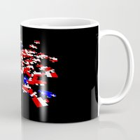 patriotic Mugs featuring patriotic jigsaw by Albin0