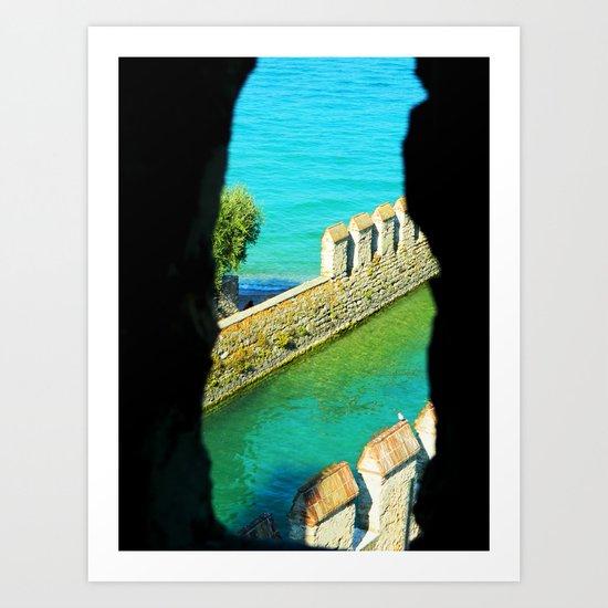 Garda Lake Art Print