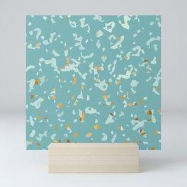 GOLD FLAKES Mini Art Print