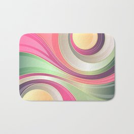 Abstract Background 155 Bath Mat