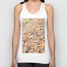 Autumn leaves Unisex Tank Top