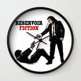 Reservoir Fiction Wall Clock