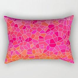 Mosaic Pink Rectangular Pillow