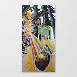 mustard seed Canvas Print