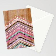 Purple Chevron Wild Stationery Cards