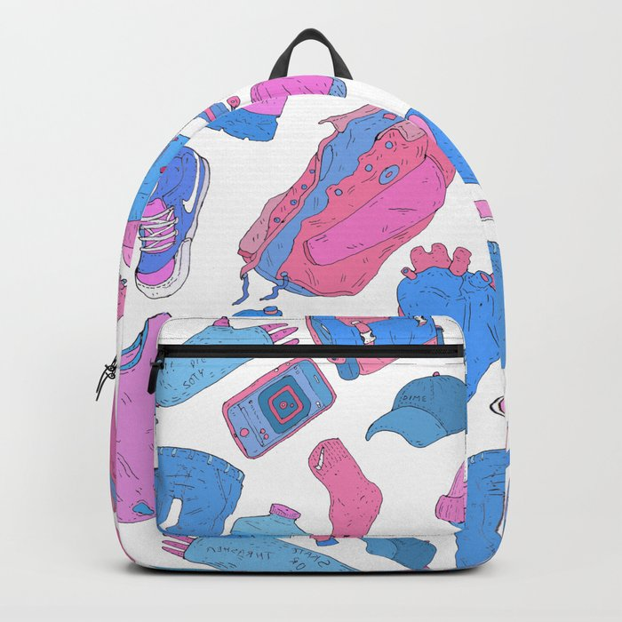 dream about skateboarding Backpack