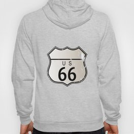 Blank Route 66 Sign Hoody