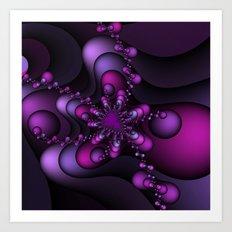 Bubble Wave Art Print