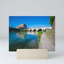 Castel Sant'Angelo - Rome Mini Art Print