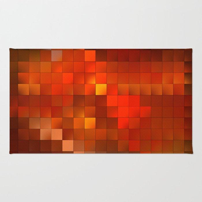 light squares Rug