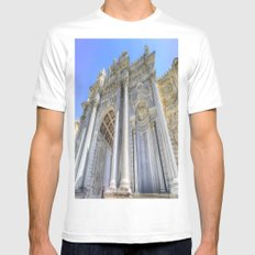 Dolmabahce Palace Istanbul White Mens Fitted Tee MEDIUM