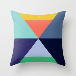 Colorful pattern XVII Throw Pillow