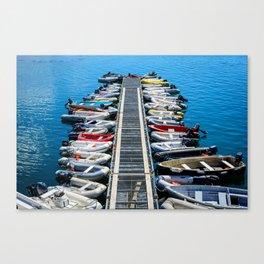 Saint Andrews Harbour Canvas Print