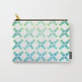 Blue Pineapples Carry-All Pouch