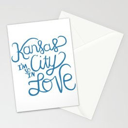 Kansas City I'm So In Love Stationery Cards