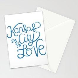 Kansas City I'm So In Love Stationery Cards