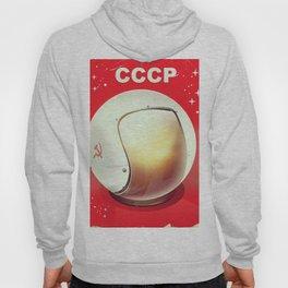 CCCP Soviet Space poster Hoody